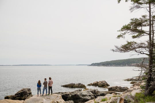 Acadia National Park, located in Bar Harbor, Maine, offers ocean views and low prices in the early spring.