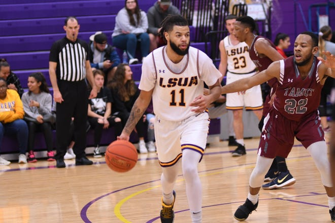 LSUA senior Chris Vickers recently reached the 1,000-point mark, becoming the fifth General to do so.