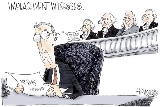 Impeachment Witnesses