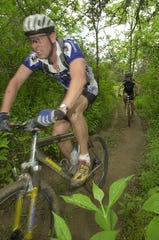 The Alexander Mountain Bike Park in North Buncombe County will close permanently  Jan. 31.