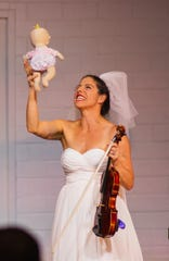"Felicity Hesed's ""Cara Vita: A Clown Concerto"" is one of the Asheville Fringe festival performances."
