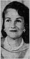 Carol Serling, pictured in 1959.