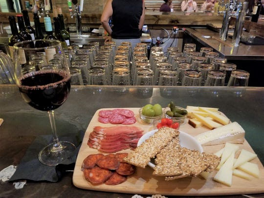 """Gina Valentino (Jan. 9): """"Crafty Crane Bar (2101 Henley Ct., Melbourne)! The charcuterie is to die for. Super chill and comfortable environment and I'll be spending a beautiful afternoon on their patio soon."""""""