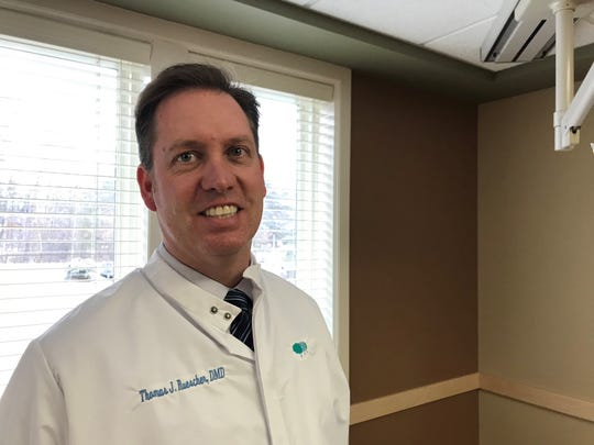 Dr. Tom Ruescher of Timberlane Dental Group says he has a backlog of 320 young patients who need urgent care.