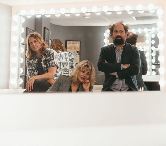 """I'm sort of amazed that there hasn't been more arm-wrestling,"" Anais Mitchell said of her work in Bonny Light Horseman with Eric D. Johnson (left) and Josh Kaufman (right). ""The music has pointed the way for us."""