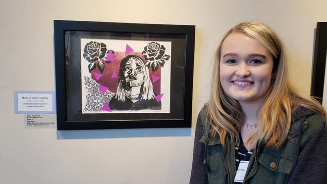 Oak Hills High School junior Kylie Cornelius earned the Selections 2019 Scholarship from Mount St. Joseph University. It is renewable for four years.