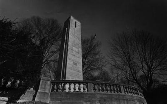 The William Henry Harrison tomb is a North Bend landmark, and a symbol of Harrison's short, yet meaningful, life.