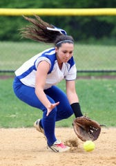 Marylynn Muldowney was a Home News Tribune first-team All-Area shortstop at North Brunswick High School in 2013