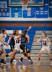 Spotswood at Middlesex girls basketball