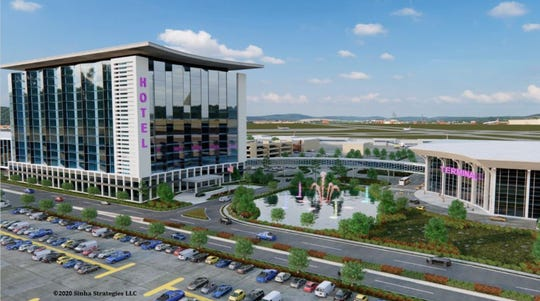 A development group proposed a $225-million casino and hotel for the Des Moines airport.