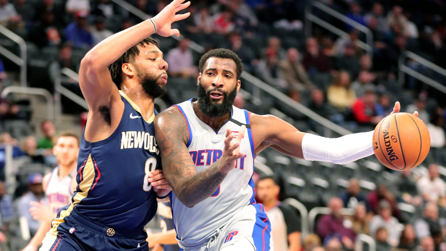 Detroit Pistons, Atlanta Hawks trade talks over Andre Drummond reportedly have ended