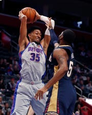 Pistons forward Christian Wood tested positive for COVID-19.