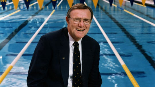 Joe Roberson was Michigan's athletic director from 1994-1997.