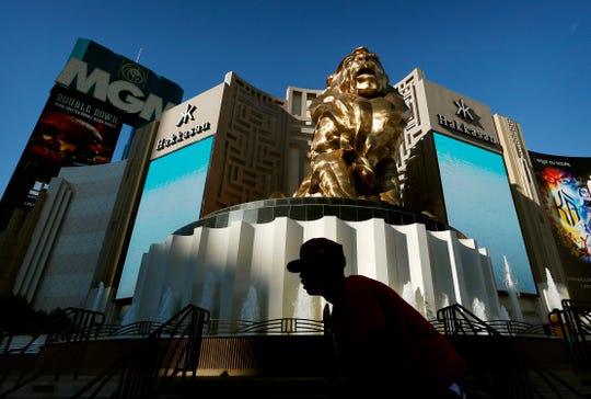 MGM Resorts International is selling the MGM Grand and Mandalay Bay resorts and casinos on the Las Vegas Strip to a joint venture for about $2.5 billion.