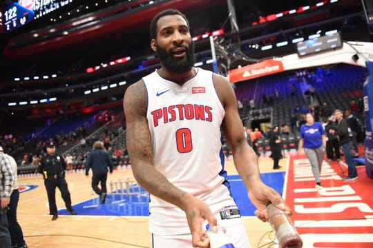 The Pistons parted with center Andre Drummond, their longest-tenured player, trading him to the Cleveland Cavaliers for veterans Brandon Knight, John Henson and a second-round pick, multiple league sources told The Detroit News.