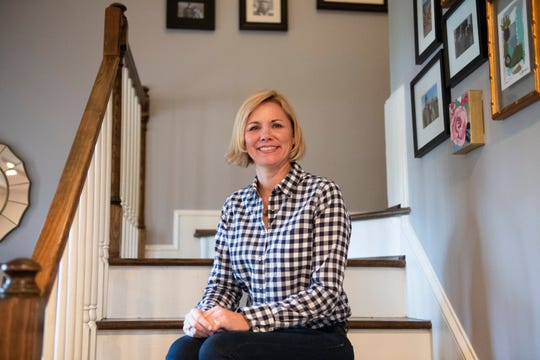 Jen Holly in her home in Greer Monday, Jan. 13, 2020.