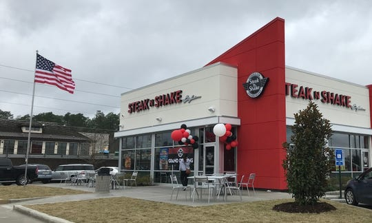 Steak 'n Shake opened in Hattiesburg on Monday, Jan. 13, 2020.