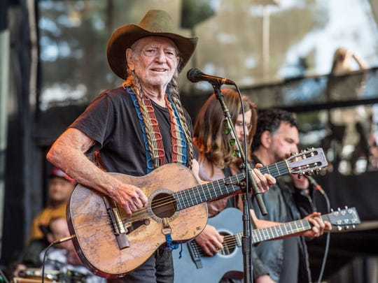 Willie Nelson will perform April 28 at Brown County Music Center.