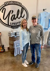 Wendy and Bo Bounds established the Y'all Lifestyle brand in 2010 and opened in Ridgeland the first Y'all Lifestyle store.