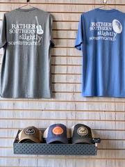 T-shirts and trucker-style hats are available at the Y'all Lifestyle store in Ridgeland.