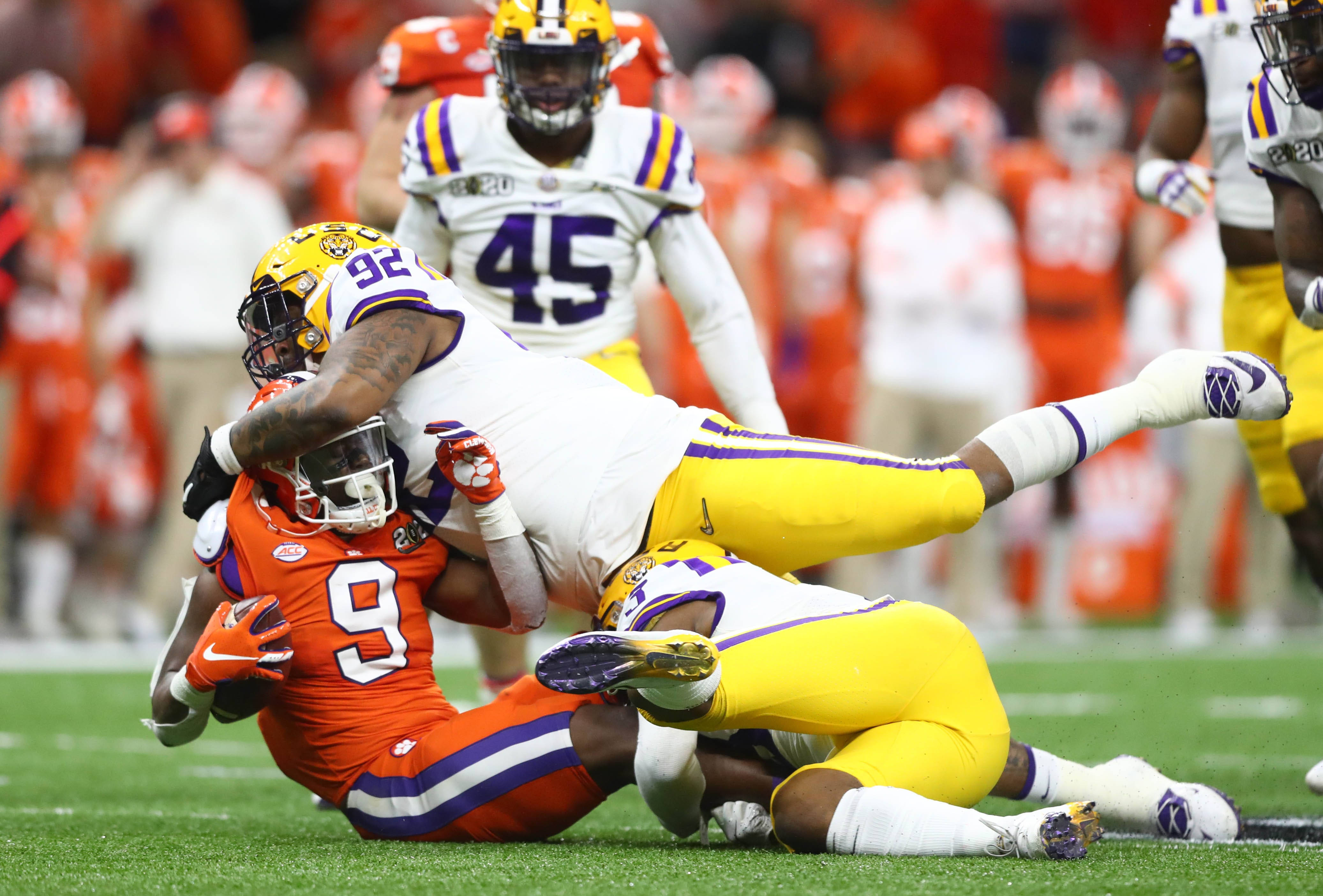 LSU s Neil Farrell Jr. opts out after COVID-19 hits family hard as season prospects dim