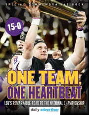 One Team, One Heartbeat: LSU's remarkable road to the national championship