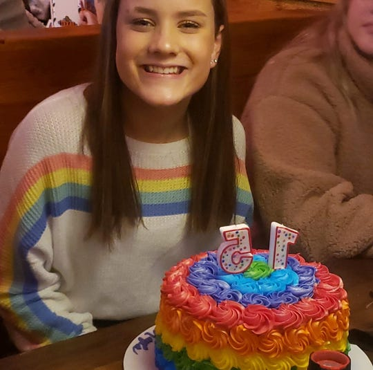 A 15-year-old student was expelled from Louisville's Whitefield Academy, a private pre-K-12 Christian school, after her family said this photo of her celebrating her birthday was posted to social media and shared with school leaders.