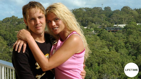 "Get ready for unseen footage and photos of the Larry Birkhead and the late Anna Nicole Smith on Lifetime's  ""Hopelessly in Love"" limited series airing Jan. 17, 2020"