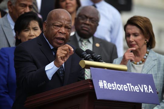 U.S. Rep. John Lewis is the scheduled speaker for the Dr. Martin Luther King Commission Day of Celebration on Jan. 20. The Georgia congressman has a long record of civil rights work, including speaking at this 2015 Capitol Hill rally to mark the 50th anniversary of the Voting Rights Act.