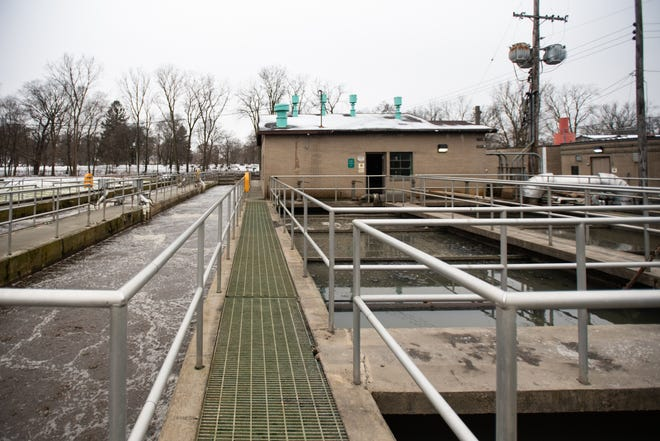 The Mason wastewater treatment plant, pictured Tuesday, Jan. 14, 2020.