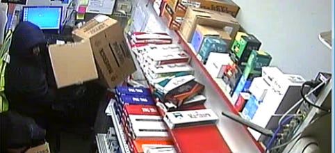 Galion police posted a photograph of suspects stealing cigarettes from Rich Oil Station, 300 S. Market St., in Galion, on Jan. 5.