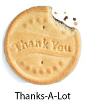 Girl Scout Cookie comparisons: Thanks-A-Lot cookies are available only from ABC Bakers. Girl Scouts of the USA