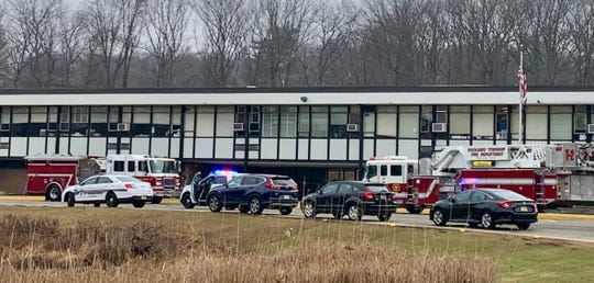 Rockaway Township's Copeland Middle School evacuated on Jan. 14 due to a delivery truck fire.