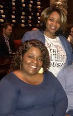 Sisters Orangeal and Libbyada  White. Orangeal White was fatally shot Feb. 2, 2019 in Montgomery, Ala.