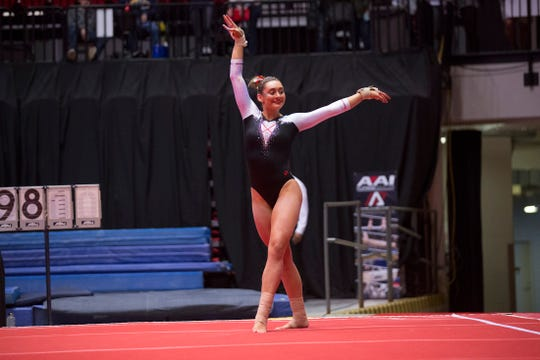 Ball State sophomore Marissa Nychyk could be a key piece for the Cardinals' gymnastics team in 2020.