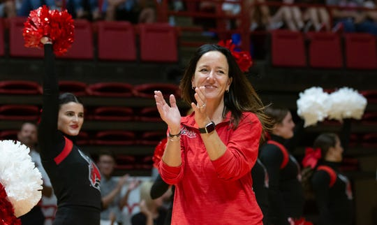 Ball State gymnastics coach Joanna Saleem has high hopes for her Cardinals in 2020.
