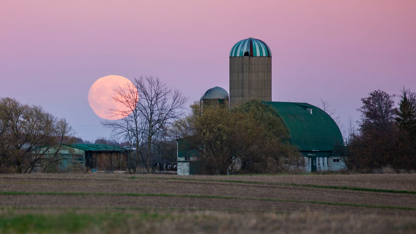When to see the 'Full Pink Moon,' the biggest and brightest supermoon of the year
