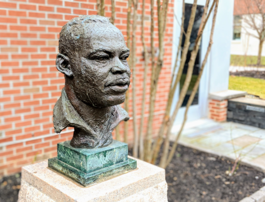 Martin Luther King Jr. bust, Kean University