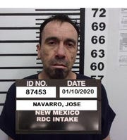 Jose Navarro is serving one year for possession of a controlled substance.