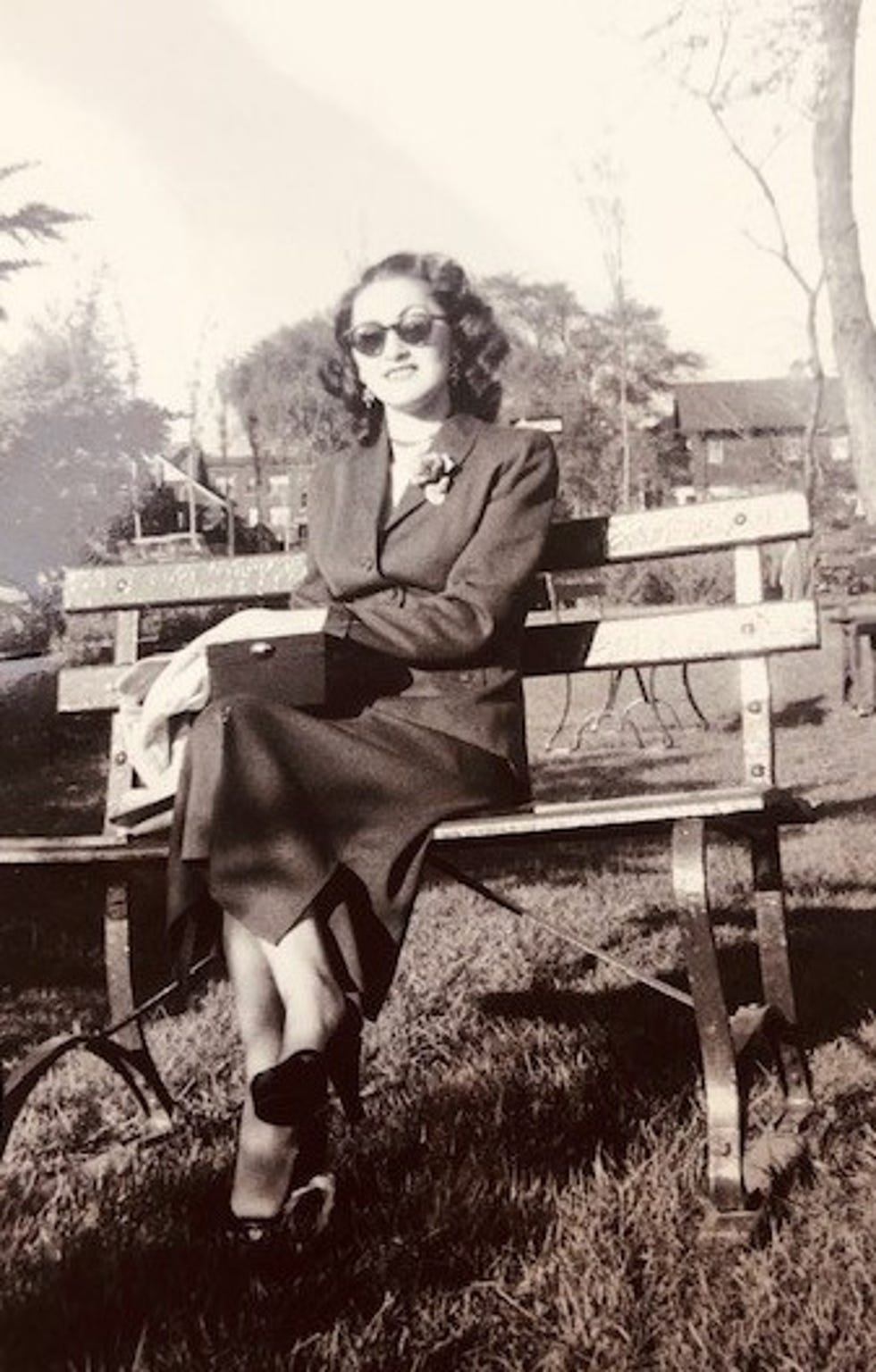 Sophie Klisman in Detroit during the 1950s.