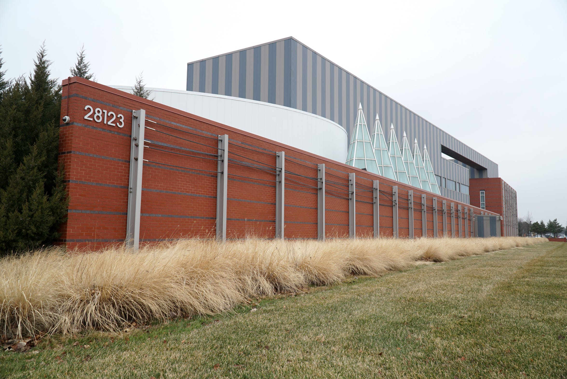The Holocaust Memorial Center in Farmington Hills on Orchard Lake Road.