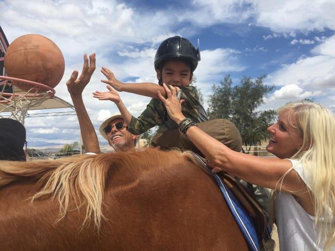 See equine therapy in action at the Pegasus Therapeutic Riding Open House on Saturday, Feb. 1