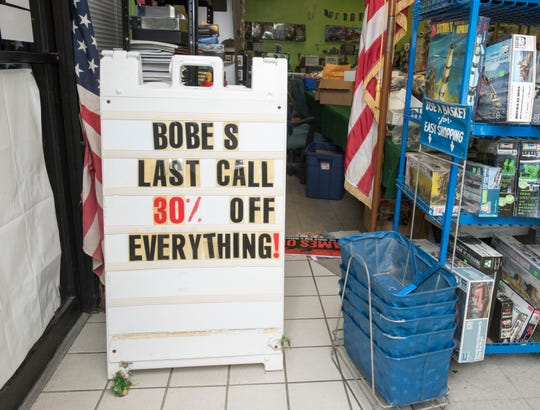 Bobe's Hobby House on Nine Mile Road in Pensacola is closing its doors after more than six decades.