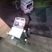 The Milton Police Department has asked for the public's assistance identifying suspects who vandalized an ATM.