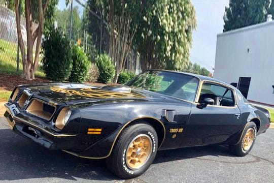 This 50th Anniversary Special Edition Trans Am comes with power windows, locks and an 8-track player.