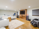 Sons finished the home's basement during his extensive renovation.