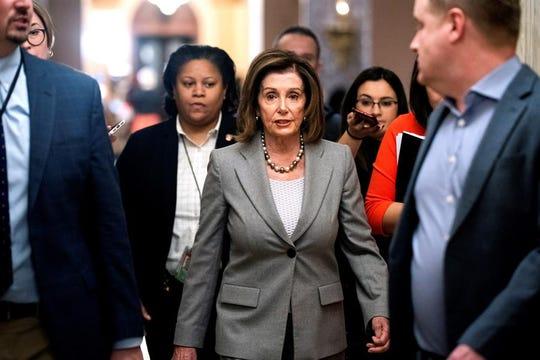 Nancy Pelosi, líder de la mayoría demócrata en la Cámara de Representantes.