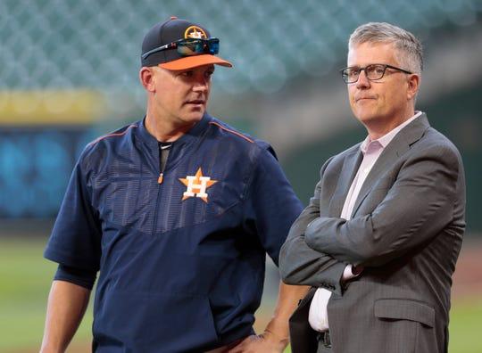 AJ Hinch, Jeff Luhnow fueron despedidos por Astros.