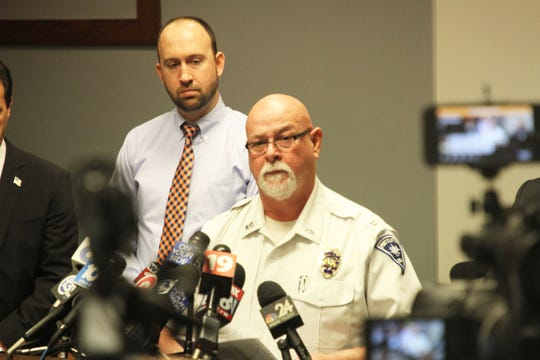 Port Clinton police Chief Rob Hickman, speaking at a press conference on Tuesday, Jan. 14, said Harley Dilly's body was found the evening before in the chimney of a vacant house across from the Dilly residence.