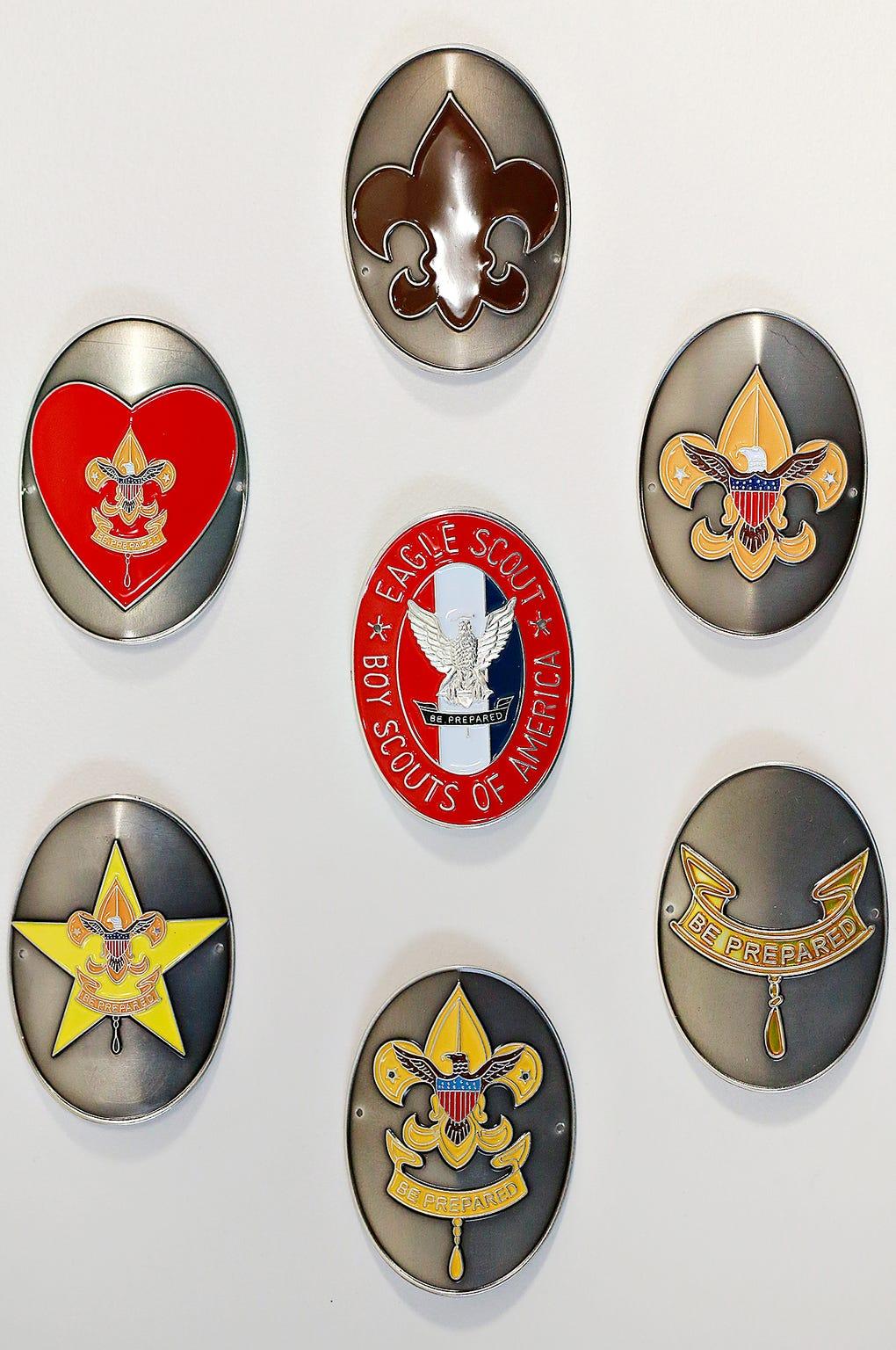 Boy Scouts of America photo illustration